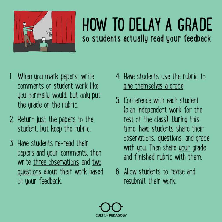 Delayed Grade Steps