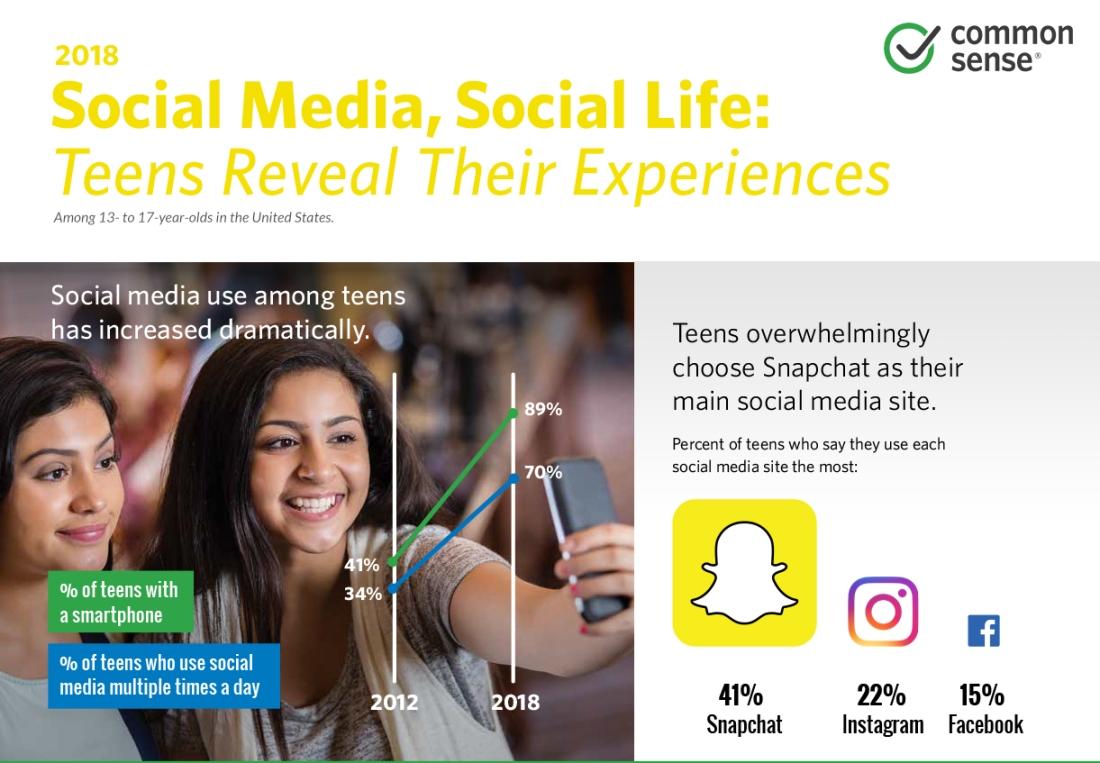 social media info graphic